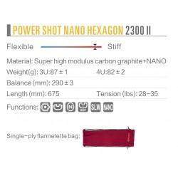 Kumpoo Power Shot Nano Hexagon 2300II