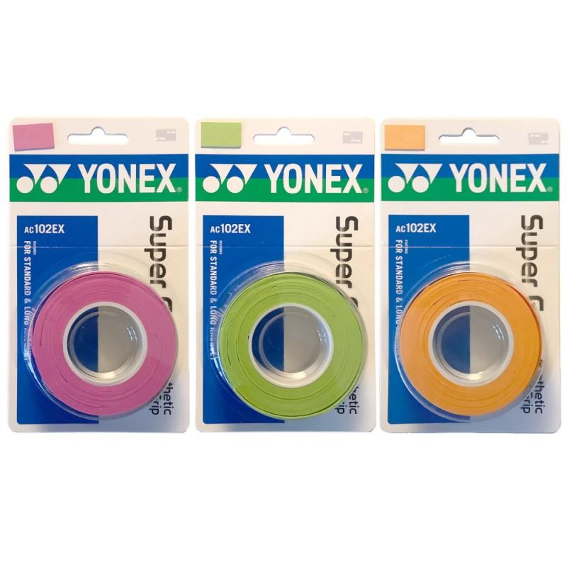 Yonex Super Grap 3pcs overgrippi